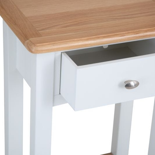 Gloucester White Painted Telephone Table