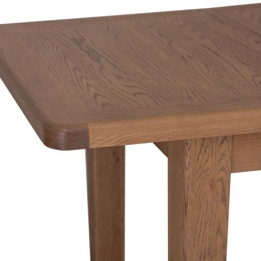 Wessex Smoked Oak 1.8m Extending Dining Table