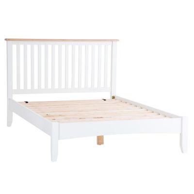 Gloucester White Painted Double Bed Frame