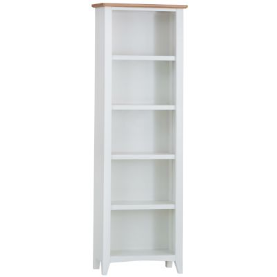 Gloucester White Painted Large Bookcase