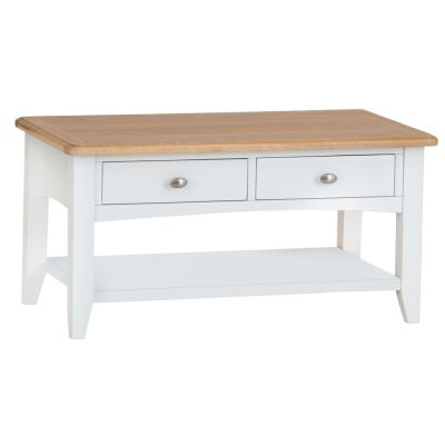 Gloucester White Painted Large Coffee Table