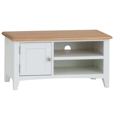 Gloucester White Painted TV Unit