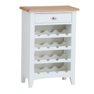 Gloucester White Painted Wine Cabinet