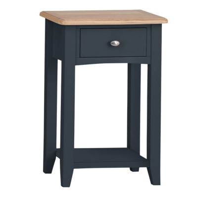Gloucester Midnight Grey Painted Telephone Table