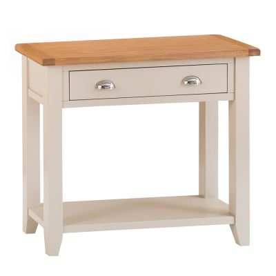 Chester Stone Painted Oak Console Table