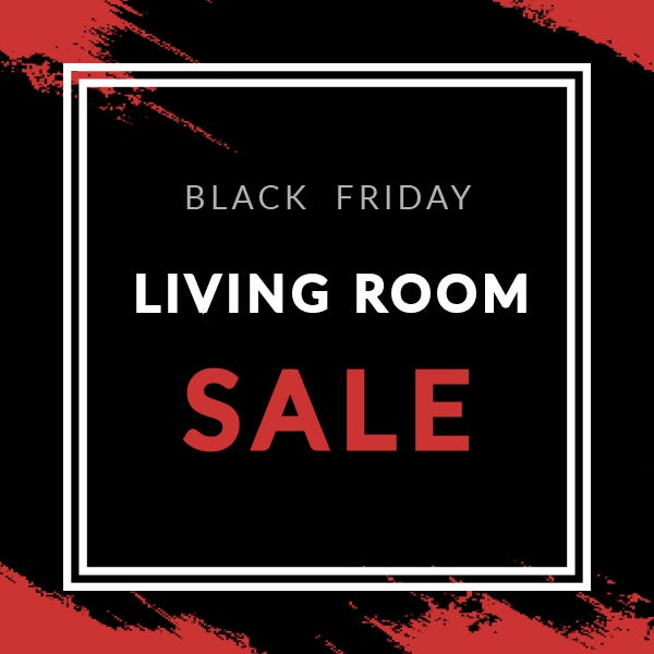 Black Friday Living Room Deals