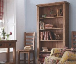 Oak Bookcases & Shelving