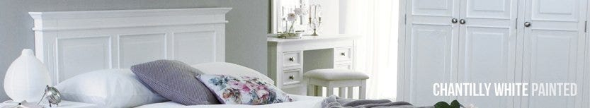 Chantilly White Painted Collection