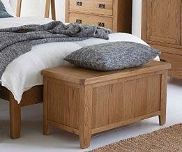 Oak Blanket Boxes