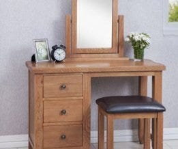 Oak Dressing Tables & Stools
