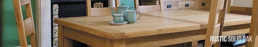 Rustic Solid Oak Collection