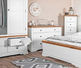 Dover White Painted Oak Collection