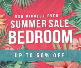 Summer Sale Bedroom