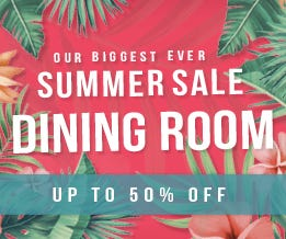 Summer Sale Dining Room