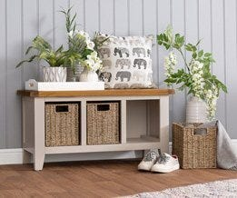 Hall Benches & Shoe Cabinets