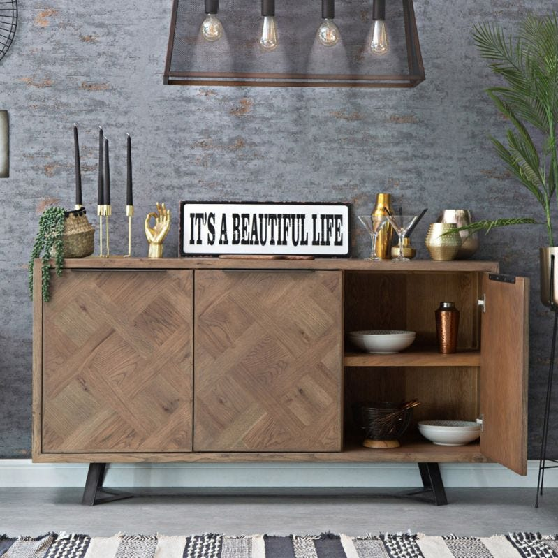 Industrial Oak Collection