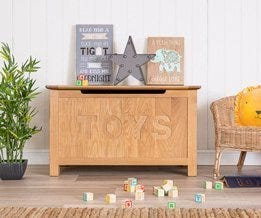 Blanket Boxes & Toy Boxes