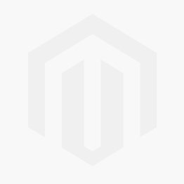 Rutland Blue Painted Oak Small Wide Bookcase